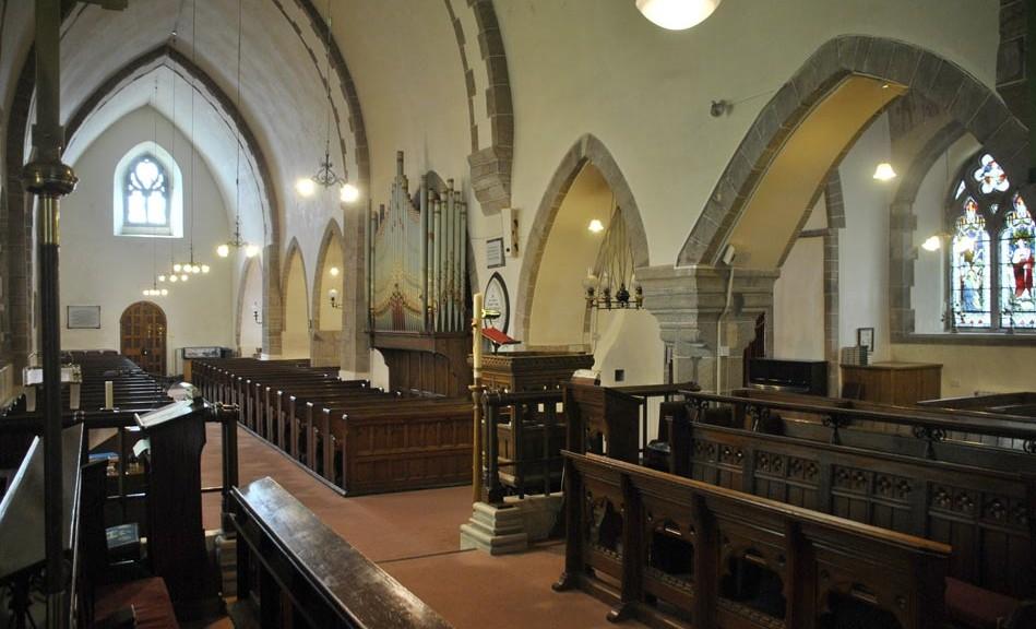 Inside Ste Marie